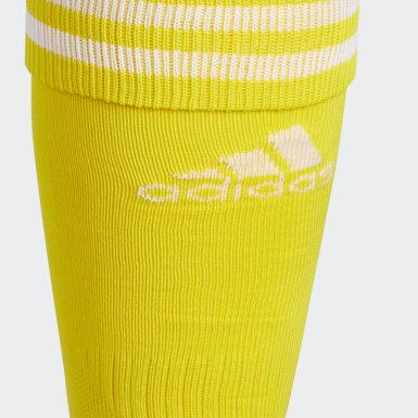 Soccer Yellow Copa Zone Cushion 4 Socks
