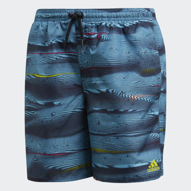 Youth Swimming Blue Parley Swim Shorts