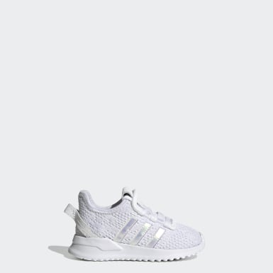 Kids Originals White U_Path Run Shoes