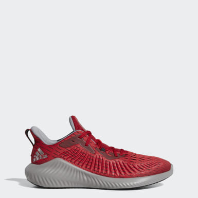 Running Red Alphabounce+ Shoes