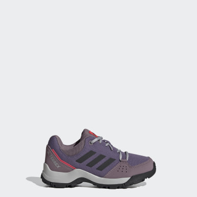 Kids TERREX Purple Terrex Hyperhiker Low Hiking Shoes