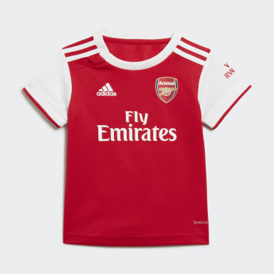 Kinder Fußball FC Arsenal Mini-Heimausrüstung Rot