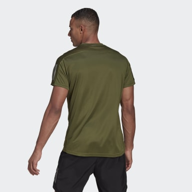 Men's Running Green Own the Run Tee