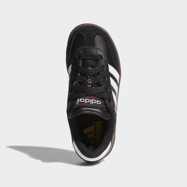 Kids Soccer Black Samba Classic Shoes