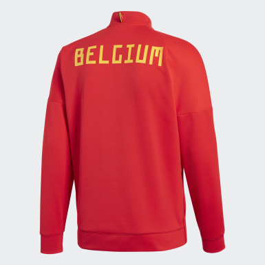Herr Fotboll Röd Belgien adidas Z.N.E. Jacka
