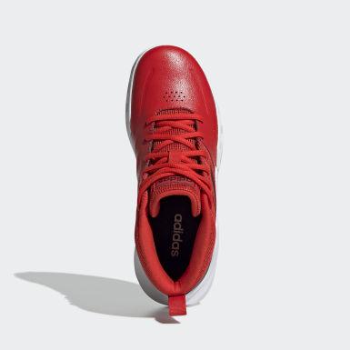 Kinderen Basketbal rood Own the Game Wide Schoenen