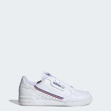 Kids Originals White Continental 80 Shoes