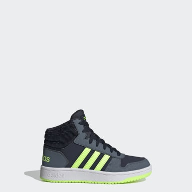 Chaussure Hoops 2.0 Mid bleu Enfants Essentials