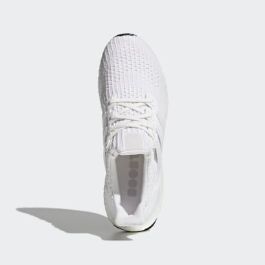 Walking White Ultraboost Shoes