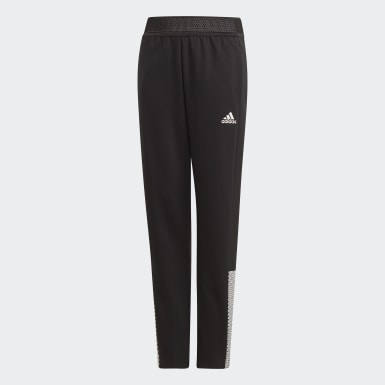 Girls Training Black ID Joggers