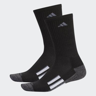 Men's Running Black Climalite X 2.0 Mid Crew Socks 2 Pairs