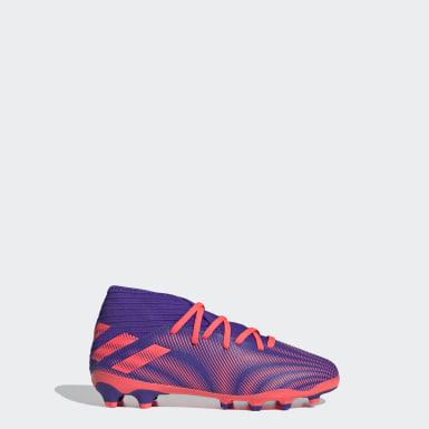 Chaussure Nemeziz .3 Multi-surfaces Violet Enfants Football