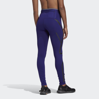Leggings Compridas TRUEPACE adidas by Stella McCartney Roxo Mulher adidas by Stella McCartney