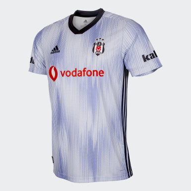 Men Football Blue Beşiktaş JK Third Jersey