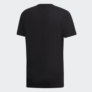 Camiseta Must Haves Badge of Sport Preto Homem Essentials