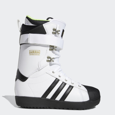 Originals White Superstar ADV Boots