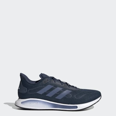 Men Running Blue Galaxar Run Shoes