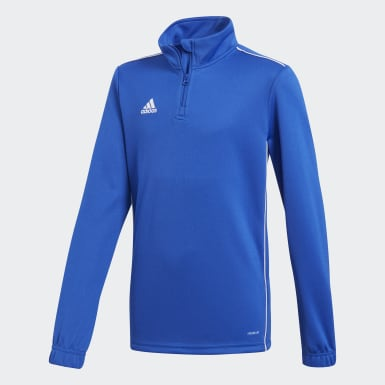 Kids Training Blue Core 18 Training Top