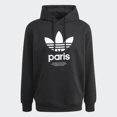 Hoodie Paris City Nero Originals