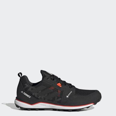 Erkek TERREX Siyah Terrex Agravic GORE-TEX Arazi Koşu Ayakkabısı