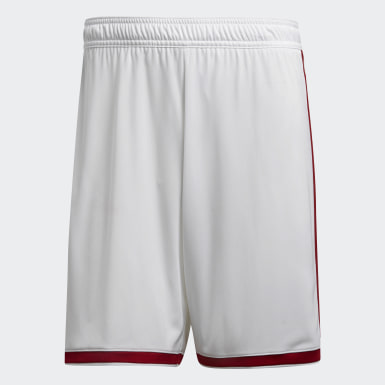 Men Football White Regista 18 Shorts