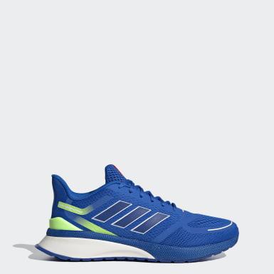Men Running Blue Nova Run Shoes