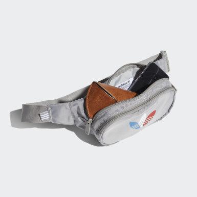 Adicolor Tricolor Classic Waist Bag Szary