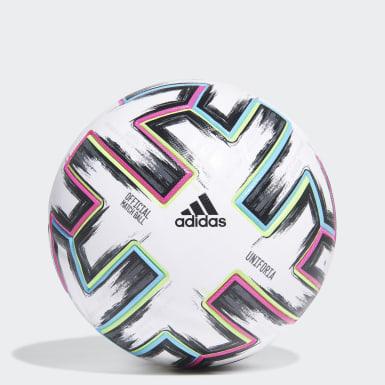 Men Football White Uniforia Pro PC Ball