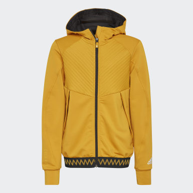 Kids Winter Sports Gold COLD.RDY Full-Zip Hoodie
