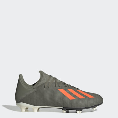 Fotboll Grön X 19.3 Firm Ground Boots