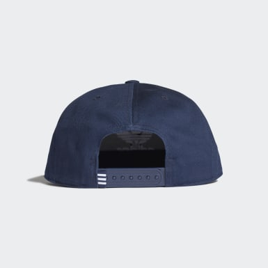 Originals blauw Snapback Trefoil Pet