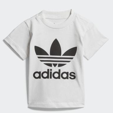 Camiseta Trefoil (UNISEX) Branco Kids Originals