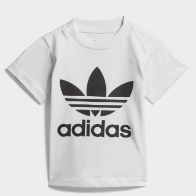 Infant & Toddler Originals White Trefoil Tee