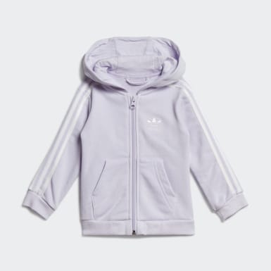 Ensemble Hoodie Violet Filles Originals
