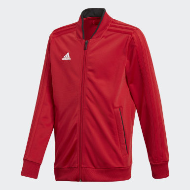 Veste Condivo 18 Rouge Enfants Training