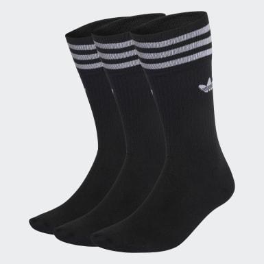Originals čierna Ponožky Crew