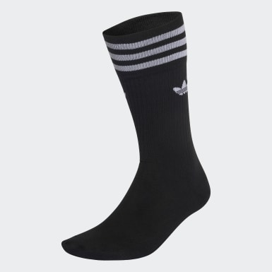 Originals Black Crew Socks 3 Pairs