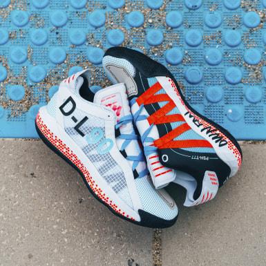 Basketball White Dame 6 x Pusha T Shoes