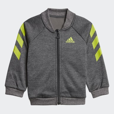 Kids Training Grey Mini Me Graphic Tracksuit
