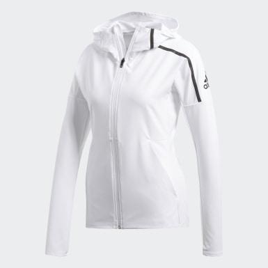 Kadın Koşu White adidas Z.N.E. Rüzgarlık