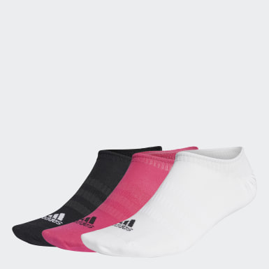 Calcetines Invisibles 3 Pares (UNISEX) Rosado Training
