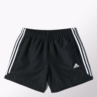 Men Lifestyle Black Essentials 3-Stripes Chelsea Shorts