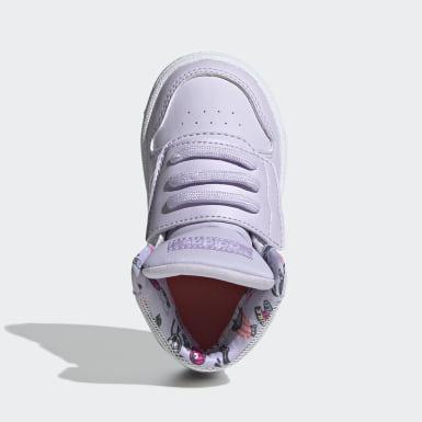 фиолетовый Высокие кроссовки Hoops Mid 2.0