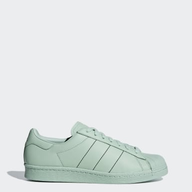 Men Originals Green Superstar 80s Shoes