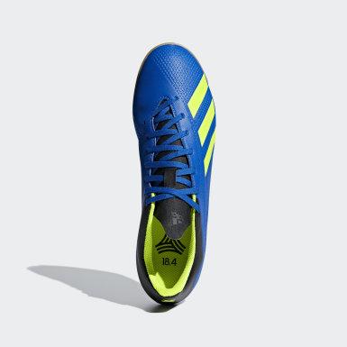 Chuteira X Tango 18.4 Futsal Azul Homem Futebol