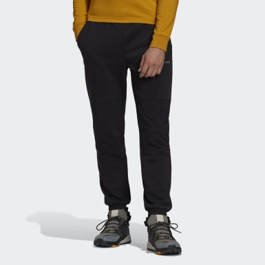 Men TERREX Black Terrex Explore Knit Tracksuit Bottoms