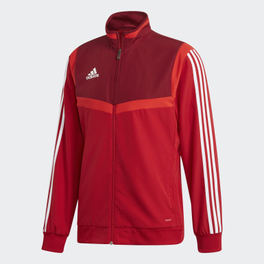 Men Training Red Tiro 19 Presentation Track Top