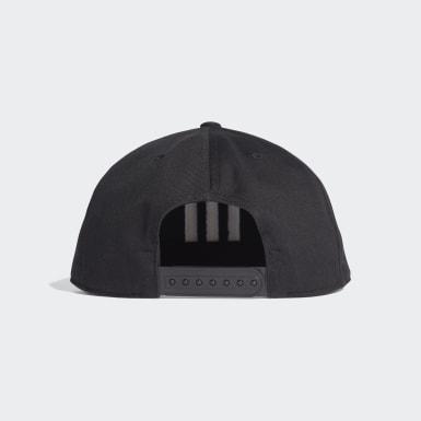 Training Siyah H90 3-Stripes Şapka