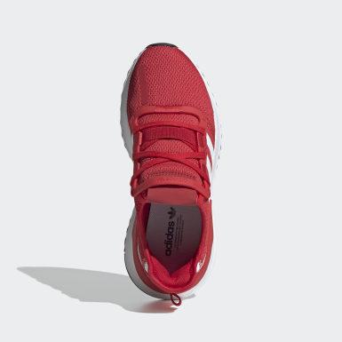 Sapatos U_Path Run Vermelho Criança Originals