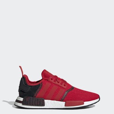 Details about Adidas Originals NMD R1 Red White Navy Blue Americana EG5651 USA GS Men's 4Y 13
